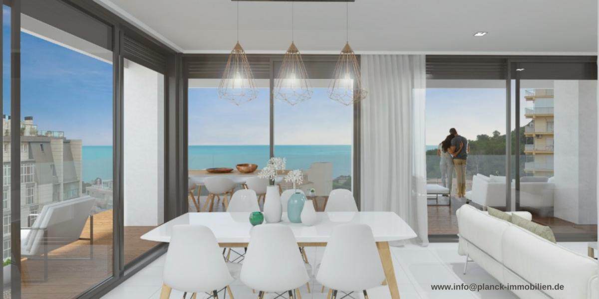 Calpe: Exklusive 2-Zimmer Appartements mit Meer- und Bergblick